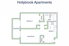 Hollybrook 1Bed1Bath