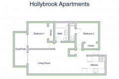 Hollybrook 2Bed2Bath